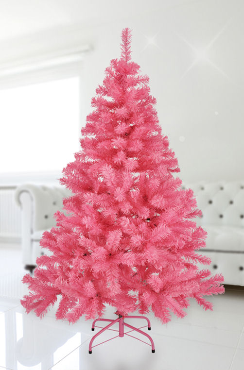 k nstlicher weihnachtsbaum wei gr n pink gr e w hlbar tannenbaum baum ebay. Black Bedroom Furniture Sets. Home Design Ideas